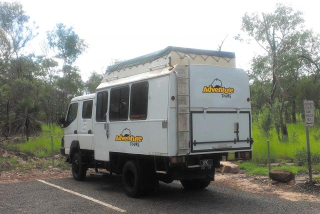 Top end 4WD fleet exterior